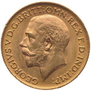 1911 Gold Sovereign - King George V