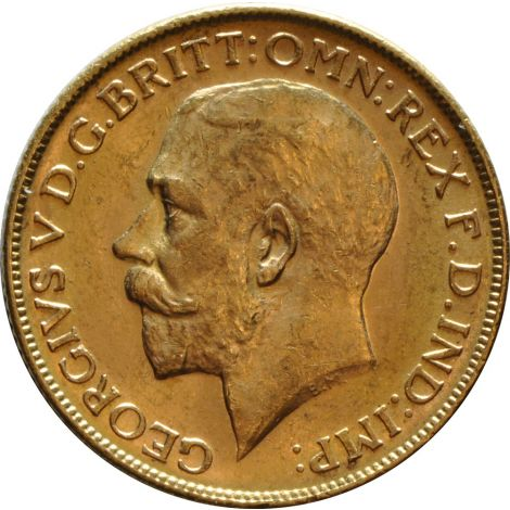 1914 Gold Sovereign - King George V