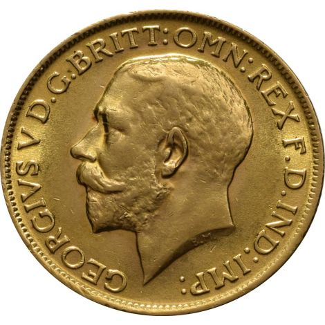 1915 Gold Sovereign - King George V