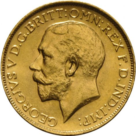 1917 Gold Sovereign - King George V