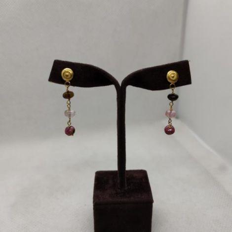 19.2ct  Gold Earrings