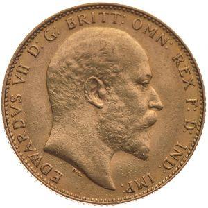 1909 Gold Sovereign - King Edward VII