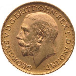 1912 Gold Sovereign - King George V