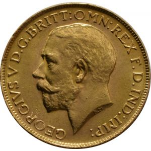 1927 Gold Sovereign - King George V