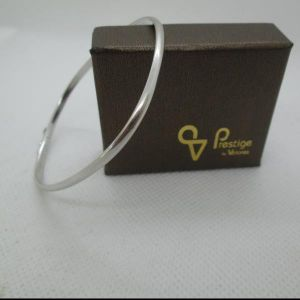 19.2ct  White Gold Bracelet