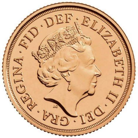 2019 Gold Sovereign - Elizabeth II Fourth Head