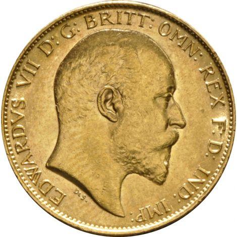 1902 Gold Half Sovereign - King Edward VII