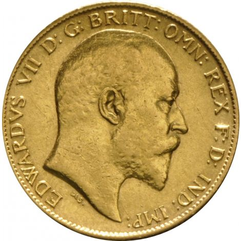 1904 Gold Half Sovereign - King Edward VII