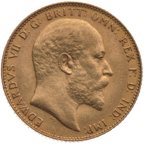 1907 Gold Sovereign - King Edward VII