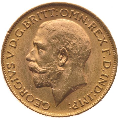 1911 Gold Sovereign - King George V