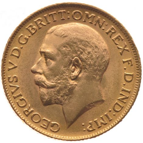 1912 Gold Sovereign - King George V
