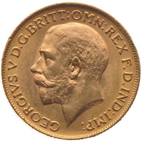 1913 Gold Sovereign - King George V