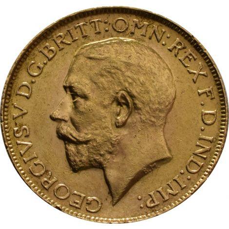 1925 Gold Sovereign - King George V