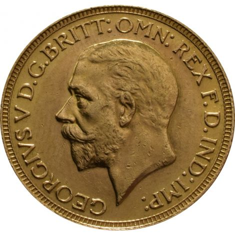 1929 Gold Sovereign - King George V
