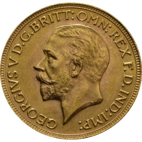 1930 Gold Sovereign - King George V