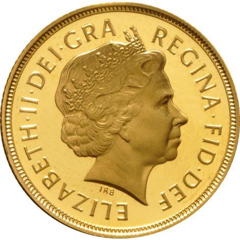 2003 Gold Sovereign - Elizabeth II Fourth Head