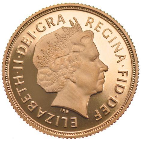 2006 Gold Sovereign - Elizabeth II Fourth Head